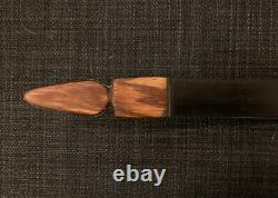 Bare Bow, Relex/Deflex Flatbow One-piece Traditional Hunting/Target Bow