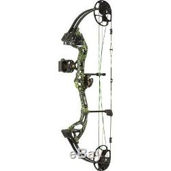 Bear Archery Cruzer G2 Ready to Hunt Bow Package Moonshine Toxic Right Hand
