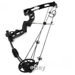Black 30-60lbs Archery Compound Bow Adult Right Hand Target Hunting Shooting Bow