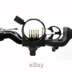 Black Archery Hunting 30-60 Lbs Right Hand Compound Bow Outdoor Shooting Target