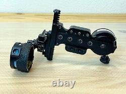 Black Spot Hogg Boss Hogg- Single Pin Bow Hunting Sight. 010, RH