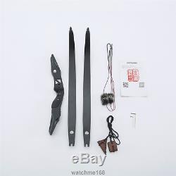 Brand New 25-50# ILF RH Riser Recurve Hunting Bow Foam Limbs For Archery