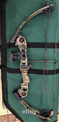 Buckmasters USA Compound Archery/Hunting Bow with extras. Powerful High Quality