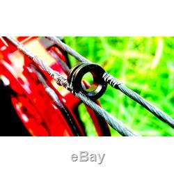 Compound Bow 40-70lbs Short Axis Steel Ball 500FPS Archery Hunting Fishing NEW