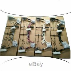 Compound Bow Arrows Set 30-70lbs Adjustable Archery Shooting Hunting Let Off 85%