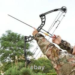 Compound Bow Set Pulley Bow For Outdoor Hunting Shooting 30-55lbs right hand