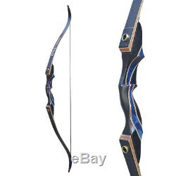 D&Q 40Ib Takedown Recurve Bow 12x Aluminum Arrows Outdoor Hunting RH Adult