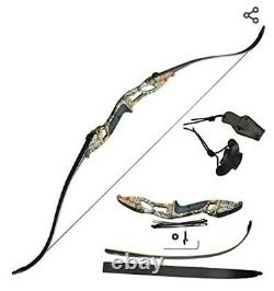D&Q 56 50lb Recurve Archery And Hunting Bow And X12 arrow Set (Brand New)