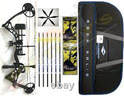 Diamond Archery Infinite 305 Bow in Black Right Hand-Full PKG
