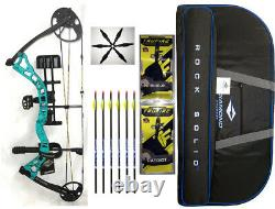 Diamond Archery Infinite 305 Bow in Teal Country Roots Right Hand-Full PKG