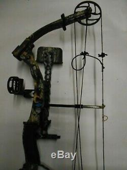 Diamond by Bowtech Justice Compound Bow Hunting Package! RH 28 55-70lb