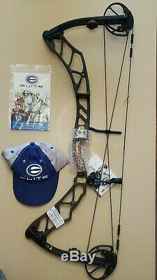 ELITE IMPULSE 34 OD BROWN 3D HUNTING BOW RH/65#/ 29 BRAND NEW With WARRANTY SAVE$