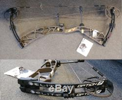 Elite Option 7 Right Hand 28 Draw 50# to 60# Archery Compound Hunting Bow
