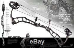 G5 Prime Centergy 26 to 31 RH 50# to 60# Hunting Bow + Free Strings For Life