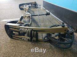 G5 Prime Logic 25 29 RH 50# 60# Hunting Bow + Free Strings For Life