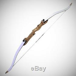 Genuine Right Hand Take Down Archery Hunting Wooden Adult Recurve Bow Set