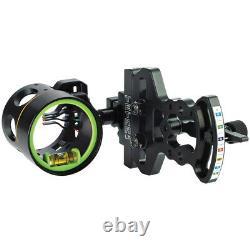 HHA Tetra LT 4 Pin 0.019 Right Hand Archery Sight-0.019