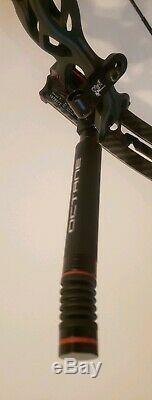 HOYT PRO COMP ELITE FX XT2000 3D TARGET HUNTING BOW FLAT BLACK RH/27&27.5/50lb