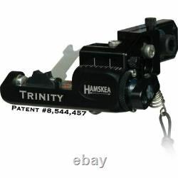 Hamskea Trinity Target RH Bow Hunting Arrow Rest Micro Tune Black- 211072
