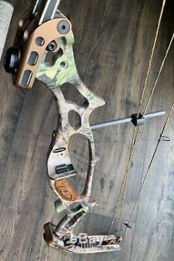 Hoyt ProTec XT2000 Compound Bow RH 26-28.5 50-60# Target Competition Hunting