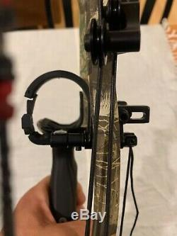 Hoyt RX-3 Turbo Carbon pack with all hunting essentials fully set up