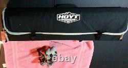 Hoyt Satori Recurve 17 flat black Riser LH 50# Medium camo Limbs 58 rdy 2 hunt