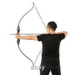 Hunting Bow Archery Recurve Takedown Bow Longbow for Wooden Riser 60inch 50lbs