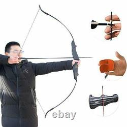 Hunting Bow and Arrow Set Takedown Recurve Bow Right Handed Bow for Adults