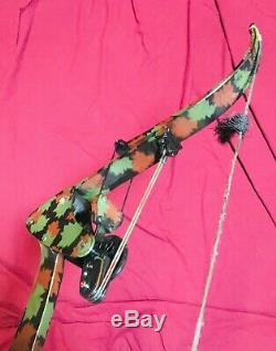 Hurry Excellent Oneida Eagle Bow Fishing Hunting Right Medium Draw 30 -50-70 lbs