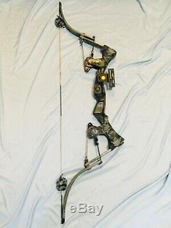 Hurry Rare Excellent Oneida Strike Eagle Bow Fishing Hunt RH Long Draw 25-50-70