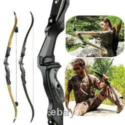ILF 17'' 19'' 21'' Recurve Bow Riser Takedown Right Handle American Bow Hunting