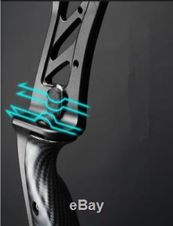 ILF 17'' Recurve Bow Riser Handle Aluminum Archery Ameican Longbow Hunting HORN