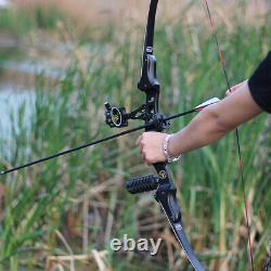 ILF 60 Recurve Bow 17 Riser 20-50lbs Limbs American Hunting Bow Archery Target