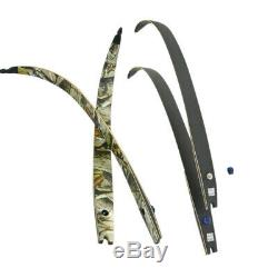 ILF 64'' Archery Recurve Bow 30-60lbs 21'' Bow Riser Target Hunting Shooting RH