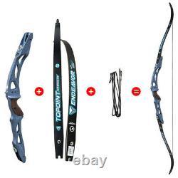 ILF 68'' Archery Recurve Bow Takedown 18-44lbs 25'' Riser RH LH Hunting Shooting