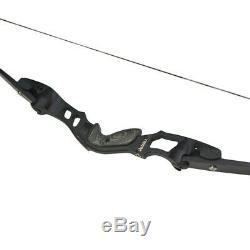 ILF Recurve Bow 30-55lbs Archery Takedown 19'' Bow Riser Aluminum American Hunt