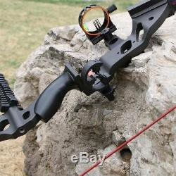 IRQ 35Lbs Archery Takedown Recurve Bow Right Hand Hunting Longbow Sight Rest