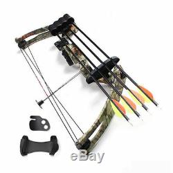 JH7474 High-strength Compound Bow Camo For Right Hand User Archery Shooting Hunt