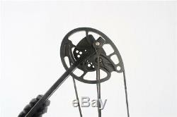 JUNXING Archery M131 Compound Bow Right Hand Hunt Target 30-55lbs Sport Black