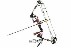 JUNXING M120 20-70Lb Right Hand Compound Bow Alloy Aluminum Archery Hunting Bow