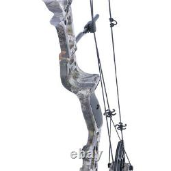 Junior Archery Compound Bow Arrows Set 15-45lbs Youth Outdoor Beginner Hunting