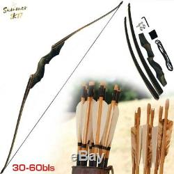 Junxing Black Hunter 60 American Hunting Bow Take Down Recurve Bow Right Hand