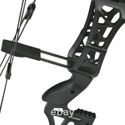 M109E 30-60lbs Compound Bow Catapult Dual-use Steel Ball Archery Hunting RH LH