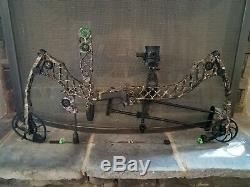 MATHEWS Heli-M Beautiful Bow Lost Camo Package Tuned and Ready to Hunt 65# 29