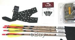 Marlowe Design Atelier with Case RT #65 Trophy Ridge-RED Laser-Easton Arrows