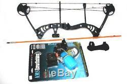 Marlowe Design Fishing Bow AMS Reel Fishing Arrow Sarion Ti Roller Red LASER