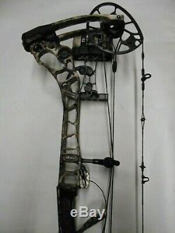 Mathews Halon 6 Compound Bow Hunting Package! 28 60-70lb. Arrow rest quiver