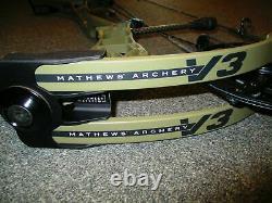 Mathews V3 31 Right-Hand 60# to 75# Ambush Green 26 to 30½ Hunting Bow