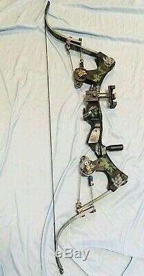 Mint Oneida Eagle Aero Force Bow Fishing Hunting RH 28-50-70 lbs Medium Draw