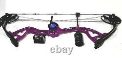 NEW Bear CRUISER Lite Purple Dream Compound Bow with Arrows RH
